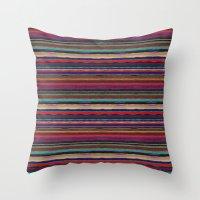 desert Throw Pillows featuring Desert by spinL