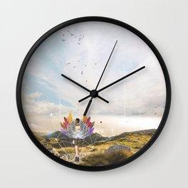 A LITTLE BIT OF MIMETISM Wall Clock