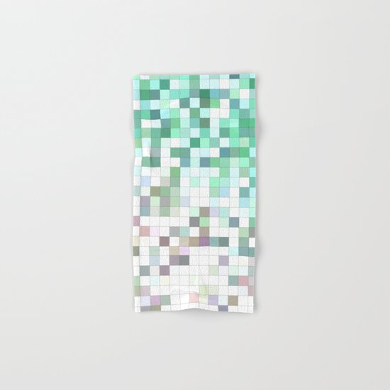 Light bathroom mosaic Hand & Bath Towel