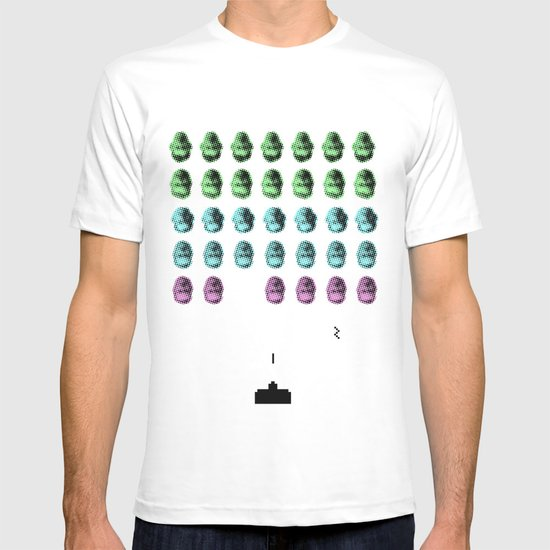 Faceinvaders T-shirt