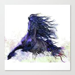 Horse running  Canvas Print