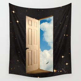 The Portal: From The Stars To The Clouds Wall Tapestry