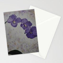 Orchids on a Stem Stationery Cards