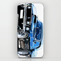 muscle iPhone & iPod Skins featuring american muscle  by Vector Art