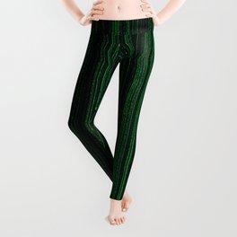 Matrix Green Leggings