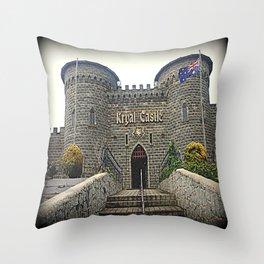 Kryal Castle Throw Pillow