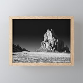 Shiprock - Desert Southwest - New Mexico Framed Mini Art Print