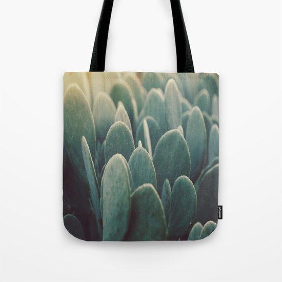 Green + Gold Tote Bag
