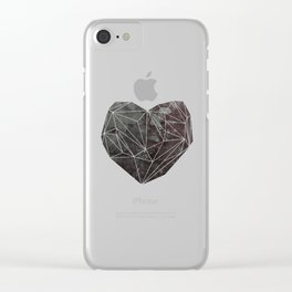 Heart Graphic 4 Clear iPhone Case