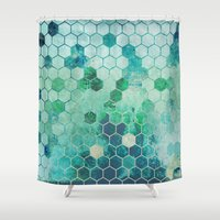 chemistry Shower Curtains featuring Chemistry by Esco