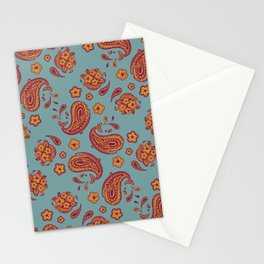Improbability Paisley Stationery Cards