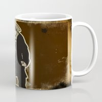 bane Mugs featuring The Dark Knight: Bane by WarrenRB