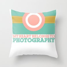 Tracey Krick Photography Throw Pillow