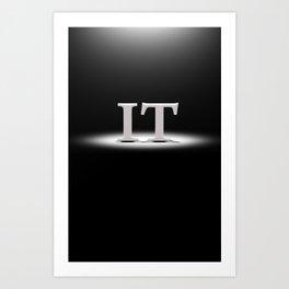 It's Lit! Art Print