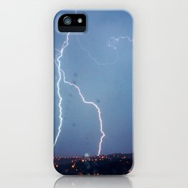 They want rain without thunder and lightning. iPhone Case