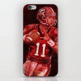 Aaron Murray of UGA Bulldogs Football iPhone Skin