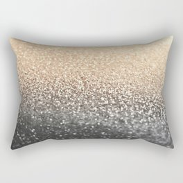 GOLD BLACK Rectangular Pillow