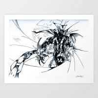 spawn Art Prints featuring Spawn by Omnivium