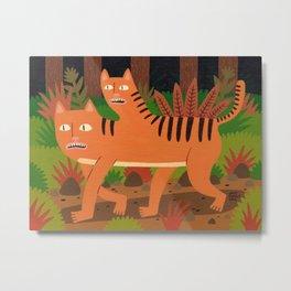Two-headed Cat Metal Print