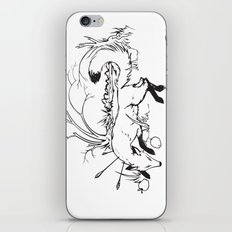 Dying Fox with Apples iPhone & iPod Skin