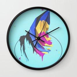 cat gurgle Wall Clock