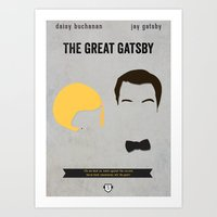 gatsby Art Prints featuring GATSBY by Anthony Morell