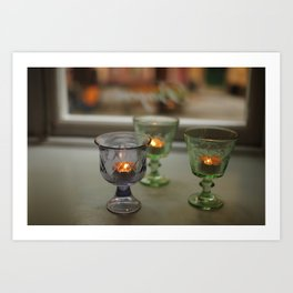 Swedish Candelight Art Print