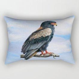 Bateleur Eagle Rectangular Pillow