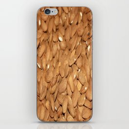 Peeled Almonds From Datca iPhone Skin