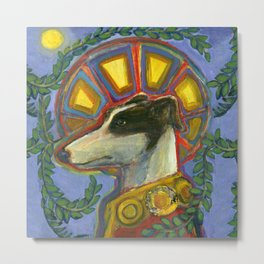 St. Guinefort the Greyhound Metal Print