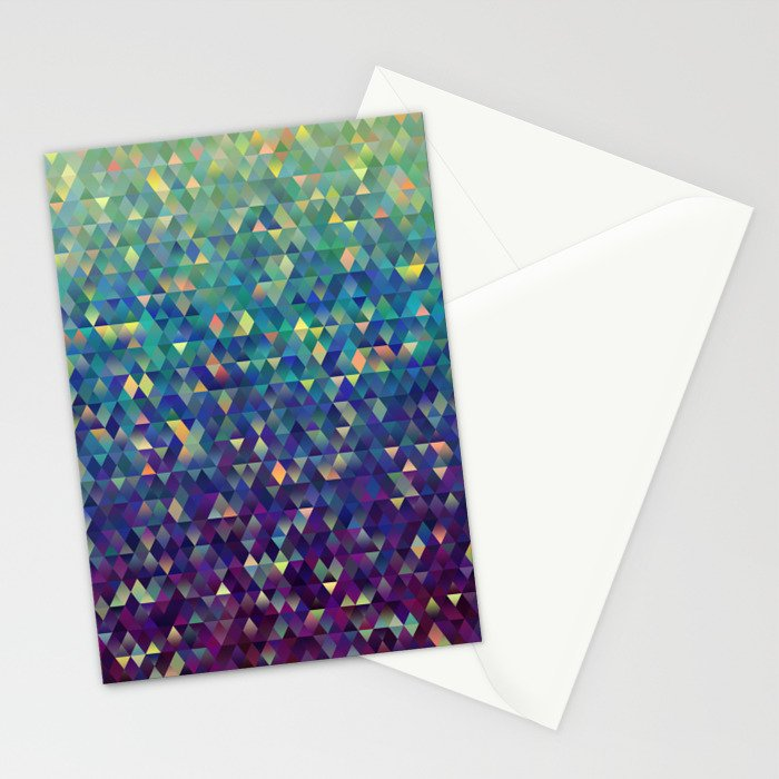 Gleaming Rainbow 1 Stationery Cards