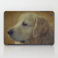 golden retriever iPad Cases featuring Golden Retriever by mexi-photos