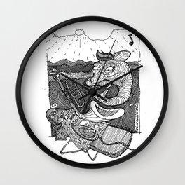 [ Dancing Dolphin ] Wall Clock