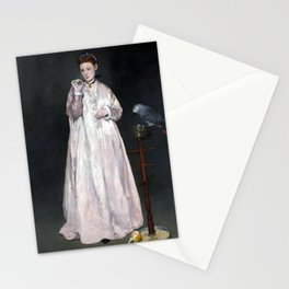 Édouard Manet Young Lady in 1866 Stationery Cards