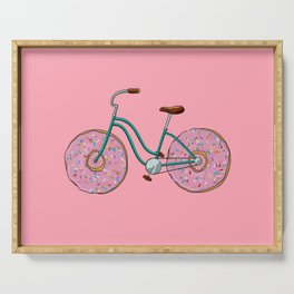 Donut Bicycle Serving Tray