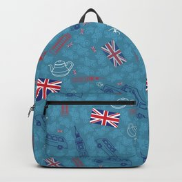 British pattern Backpack