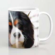 Portrait Of A King Charles Cavalier Spaniel Mug