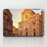 florence iPad Cases featuring Florence by Sara Cooley
