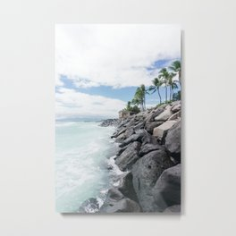 Edge of the Island Metal Print