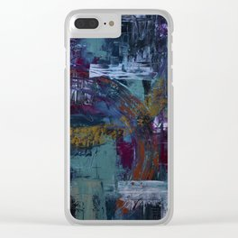 In the Fray Clear iPhone Case
