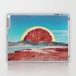 Grapefruit Beach Laptop & iPad Skin