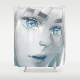 The shores of freedom Shower Curtain