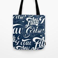 Grimey Type. Tote Bag