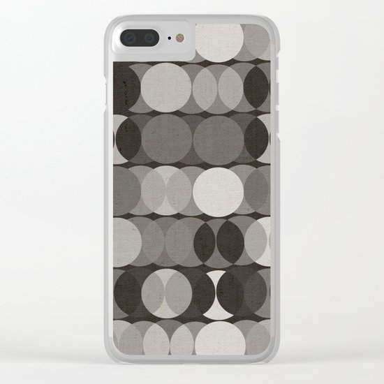 Grisailles Clear iPhone Case