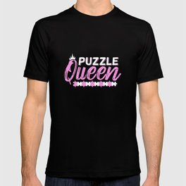 Puzzle Queen Girl Gift T-shirt