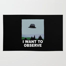 I Want to Observe Rug