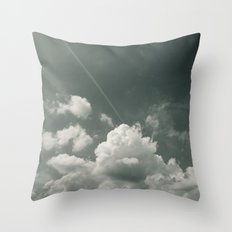 Sea of Cloud Throw Pillow
