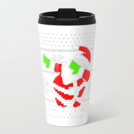 Dabbing Santa Ugly Christmas Travel Mug