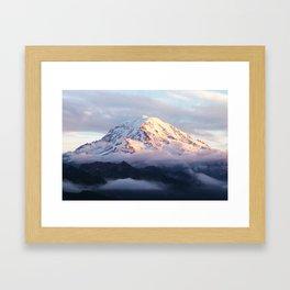 Marvelous Mount Rainier 2 Framed Art Print