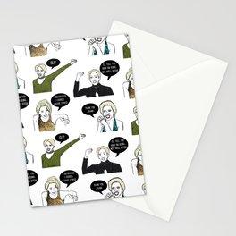 A Medley Print Stationery Cards